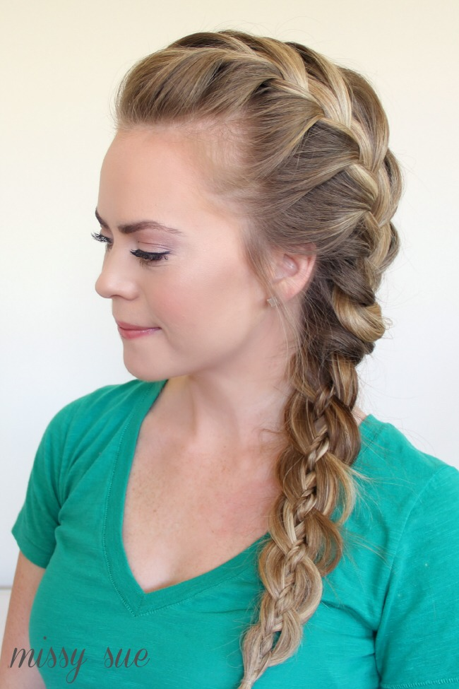 Apply olive oil or coconut oil then Loosely braid your hair before bed.
