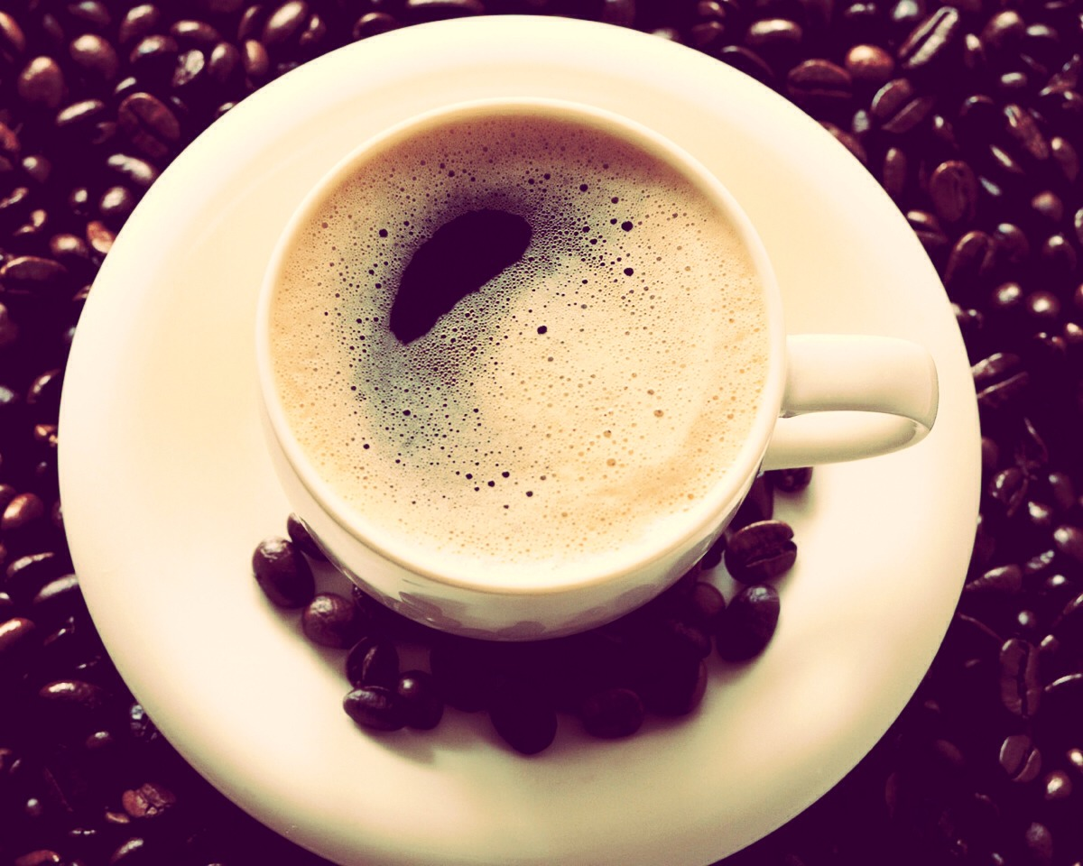 Another way to incorporate coconut oil into your diet: coffee. Makes for a lovely, creamy and smooth cup
