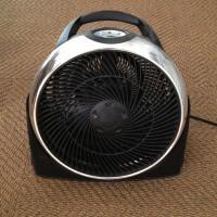 A well-placed fan can make a room feel 10 degrees cooler a costs only 1¢ per hour to run.