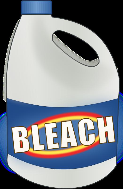 first get you a little bleach.