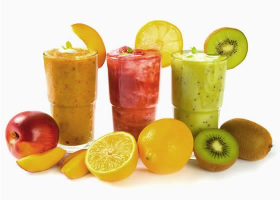 5) smoothies ; I guess it's fruit! Right..?