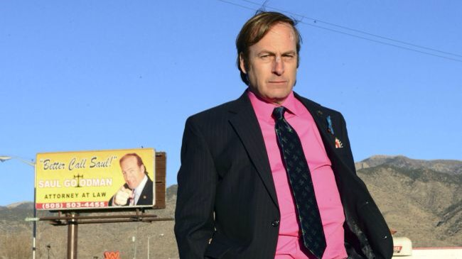 """""""BETTER CALL SAUL""""Vince Gilligan made no secret ofwantingto re-visit the world of Breaking Bad. All this awesome isthanks to Bob Odenkirk's portrayal of Saul Goodman, the corrupt lawyer who,despite the world he is in,has his ❤️ in the right place, even if he isin the wrong place."""