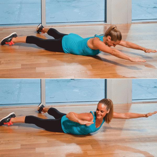 Problem: Back Fat Solution: Bow & Arrow Extensions