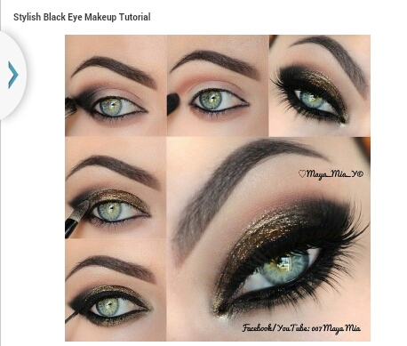 african american eye makeup tutorial  mugeek vidalondon