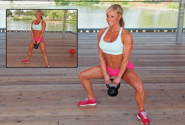 Sumo squats Perform regular squats. This is widely accepted as the most effective leg exercise.