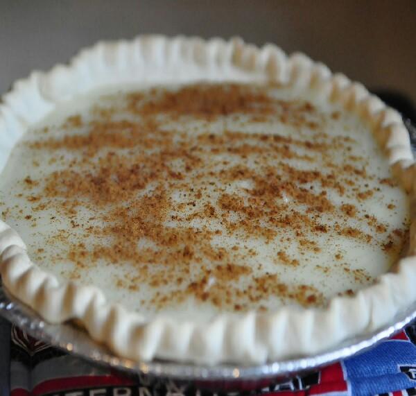 sweet cream pie