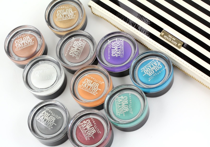 Maybeline colour tattoos are a great based for eyeshadow blending or just on their own. They blend very easily with other eyeshadows which is great