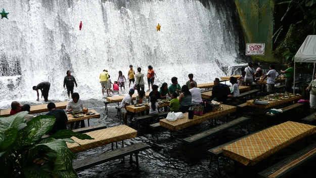 Waterfalls Restaurant in San Pablo City, Philippines