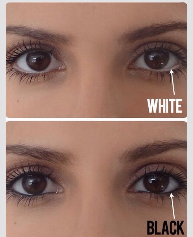 The top one is whits and the bottom one is black.