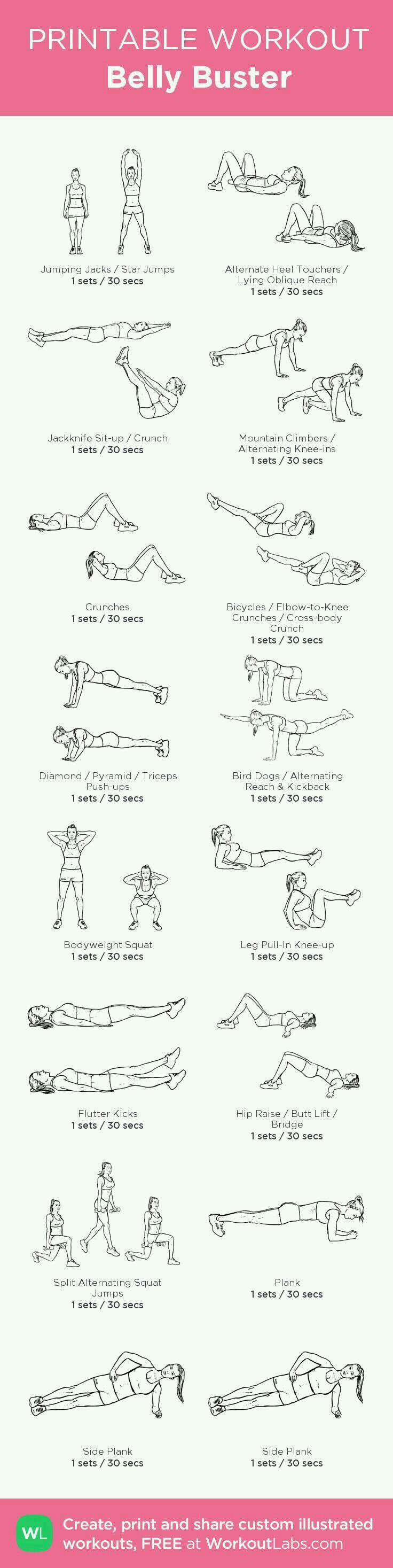 Belly Buster workout
