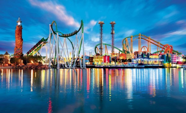 A city near you probably has a theme park. Pleasure beaches, or tc show worlds are common. Most likely there's one closer than you think that you could visit c