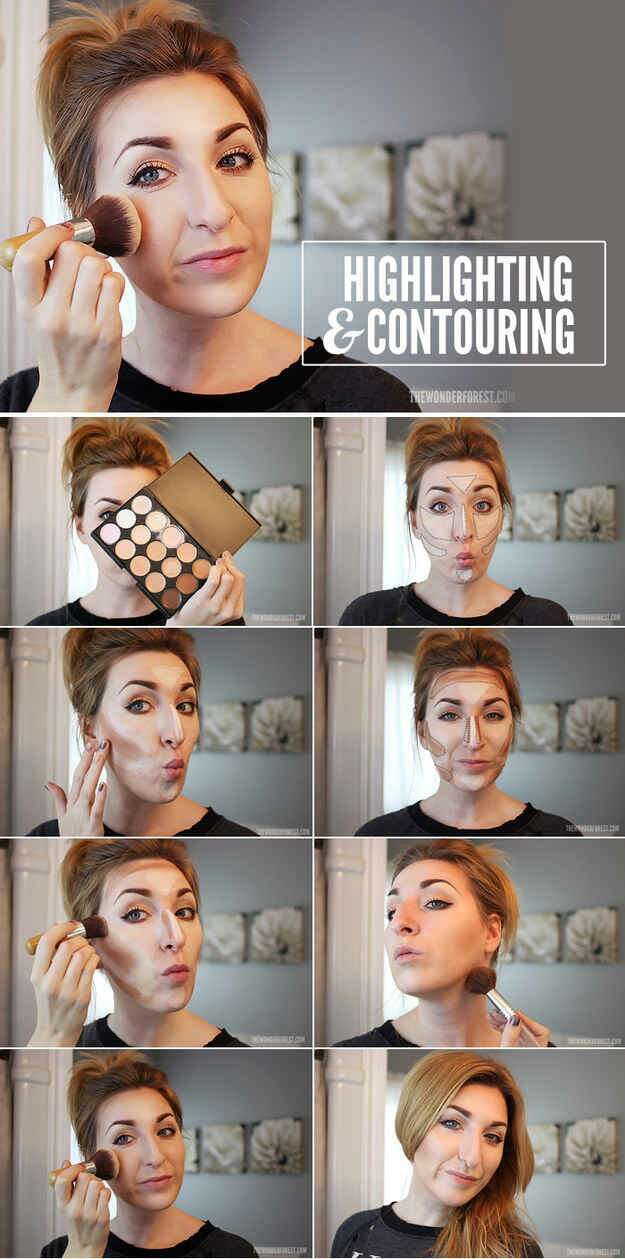 10. Contouring and highlighting really just takes some good placement.