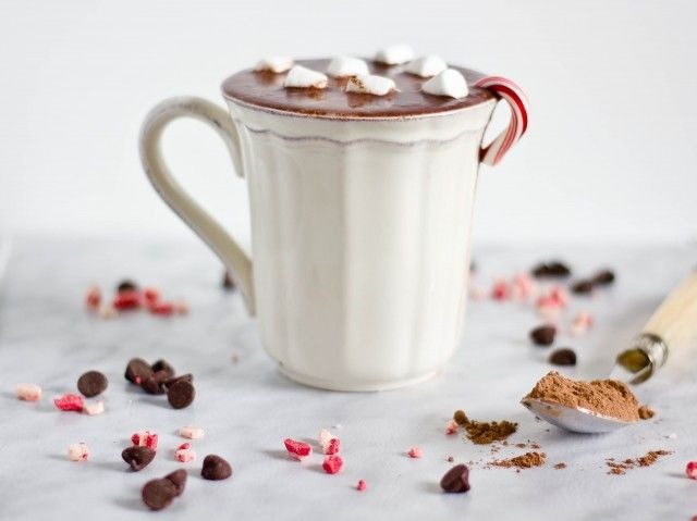 8. Peppermint Hot Chocolate