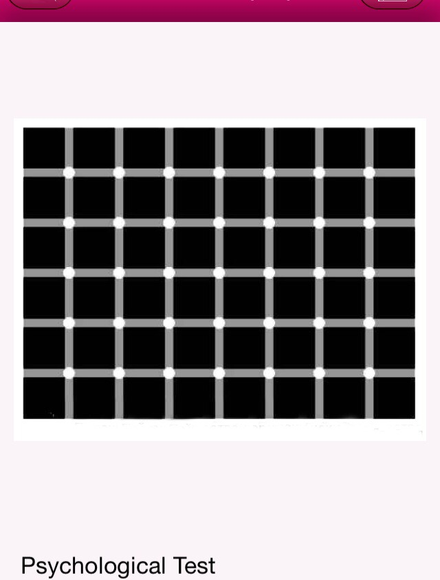 """""""The faster the black dots blink, the more psychological pressure you're under."""""""
