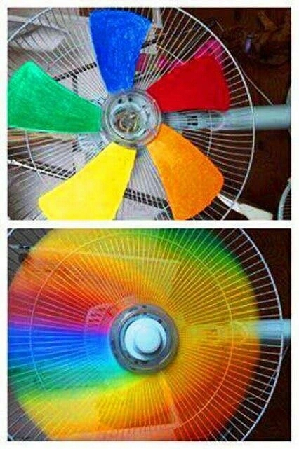 adding colors to your fan
