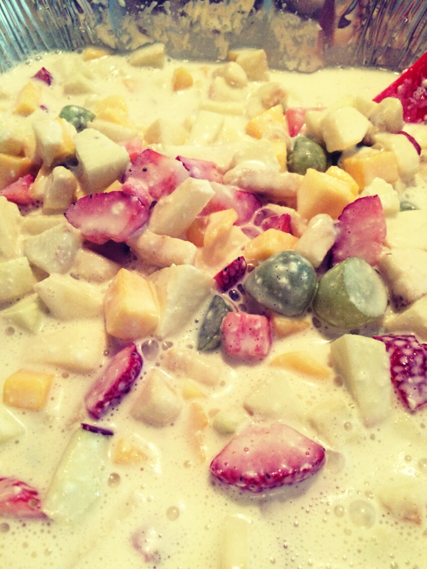 Ensalada dulce de Frutas!