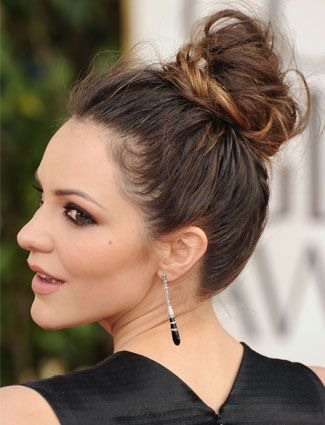 Messy bun! This has been me literally three times this week💁