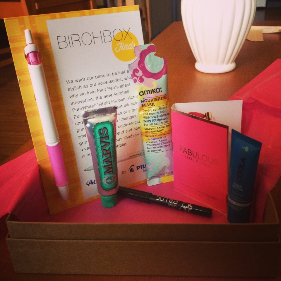 Birchbox is without a doubt the best makeup subscription service! Similar to others, you pay $10 a month and have a box filled with surprise makeup and beauty products sent right to your doorstep!