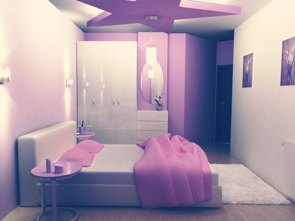 paint your room your favorite color my favorite color is purple lol