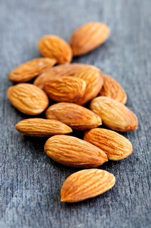 9. almonds are awesome
