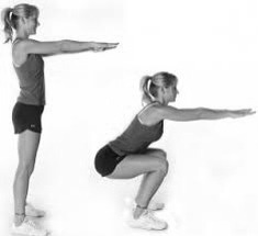 Do 100 squats a day for your perfect toned booty!