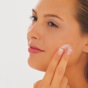 Run out of lotion? Applying a bit of Vaseline to your face makes it softer