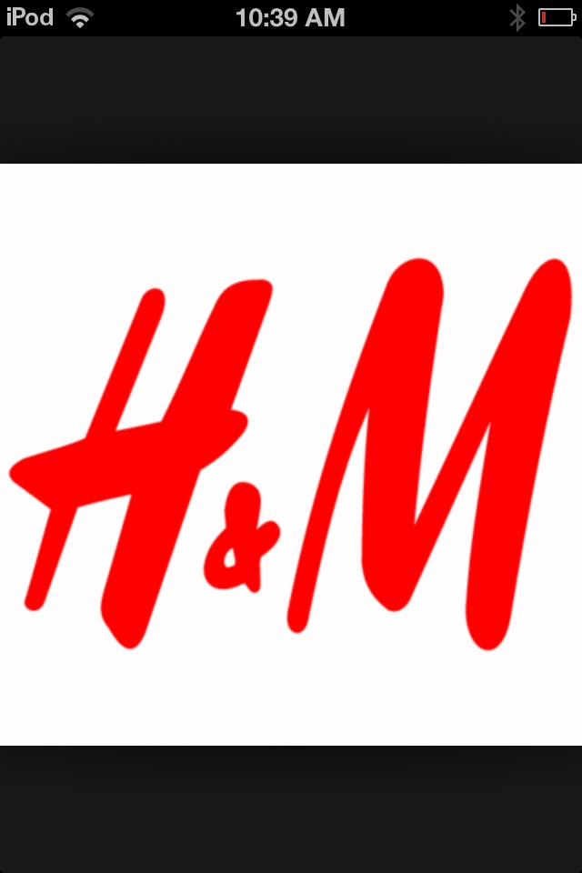 I love h&m because they have really nice stylish cloths