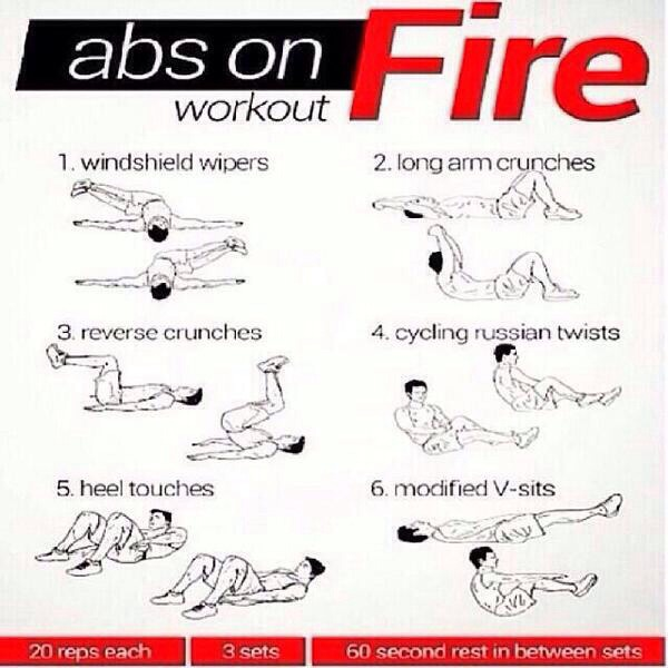 All of these really do get your abs burning and work you out