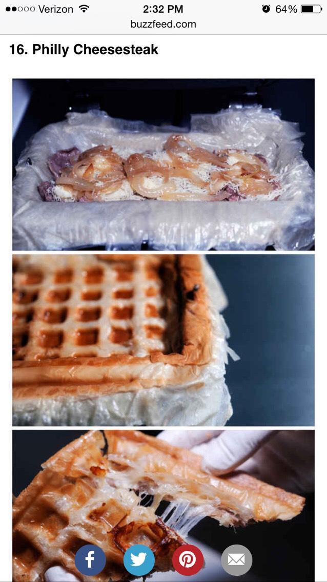 Foods You Can Cook In A Waffle Iron
