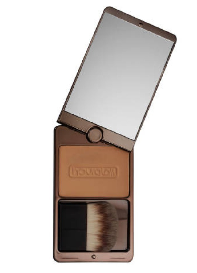 Oil free extended wear bronzer is summer proof. It's sweat proof and water proof. It never turns muddy and looks natural. $45