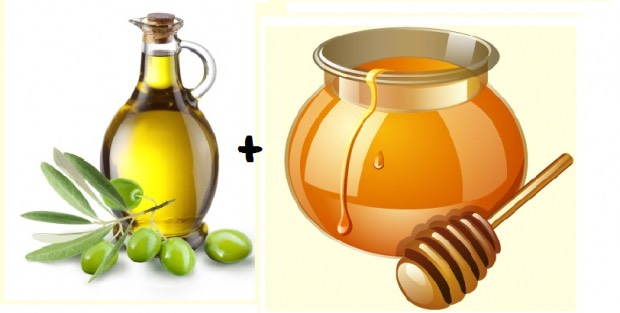 Exfoliate! Honey and olive oil mask>>>>