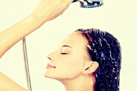 Rinse throughly. Make sure all conditioner and shampoo residue is all gone before stepping out of the shower. Leaving it in will cause dandruff, oily or possibly dry and itchy scalp!