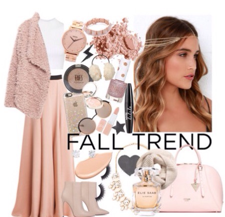 If you need to go out one night or you have a party with your friends this is the perfect outfit, rose gold is a new trend and you will be an eye catcher to wherever you go :)