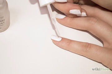 2) Apply it to your painted nails.Most nail polish should come off.