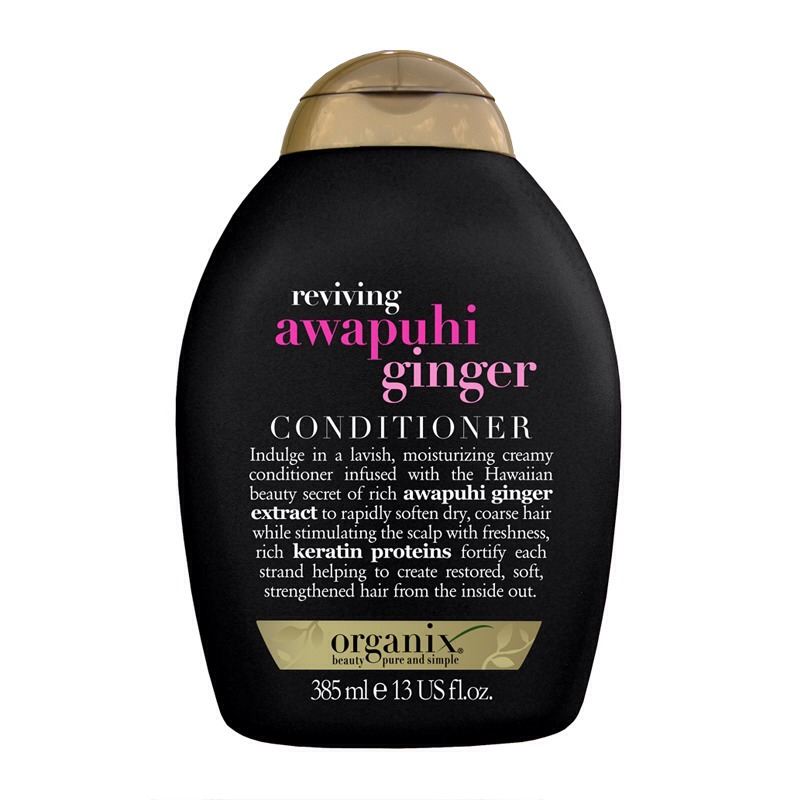 Followed by the same brand conditioner. It softens my hair and reduces the frizz ness
