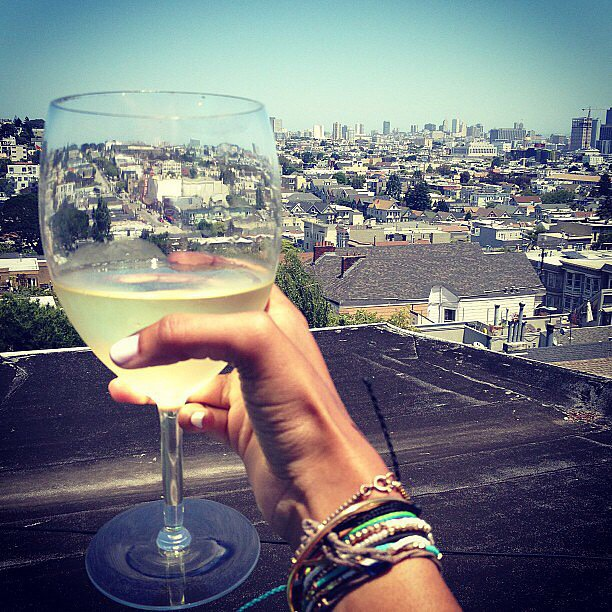 3. Have a rooftop happy hour!