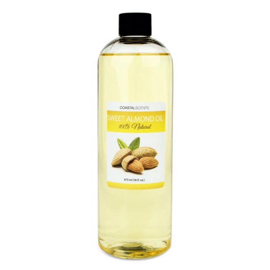 You will need:✨7tbs of Almond oil✨This oil contains Omega 9, Omega 6, Omega 3 which are all essential for hair growth. It's also rich in vitamin E which can reduce inflammation of the scalp. This oil also helps strengthen the strands, and prevents hair from breaking.