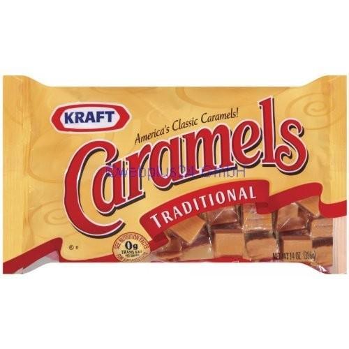 from Kmart  Kraft Traditional Caramels 14 oz Product Description Kraft Traditional Caramels 14 ... (visit site URLs for full description)