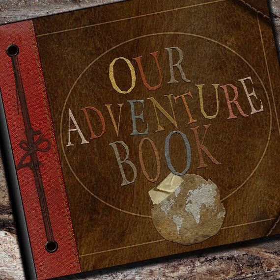 💕So you can remember all your awesome adventures together!💕  👇You could make this your own and DIY or you can purchase one here!👇  https://www.etsy.com/listing/92816631/our-adventure-photo-album-or-scrapbook