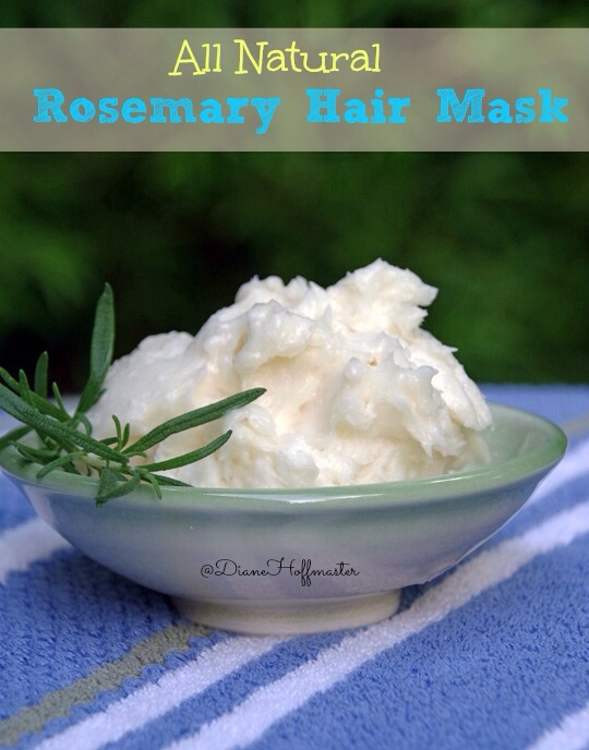 Ingredients ½ cup coconut oil (solid, not melted) 2 TBSP olive oil 1 TBSP honey 10 drops Rosemary essential oil