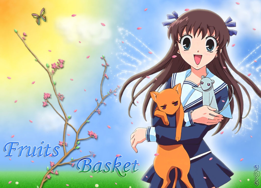 Fruits basket! Really an amazing series! To read or watch! Well worth it!