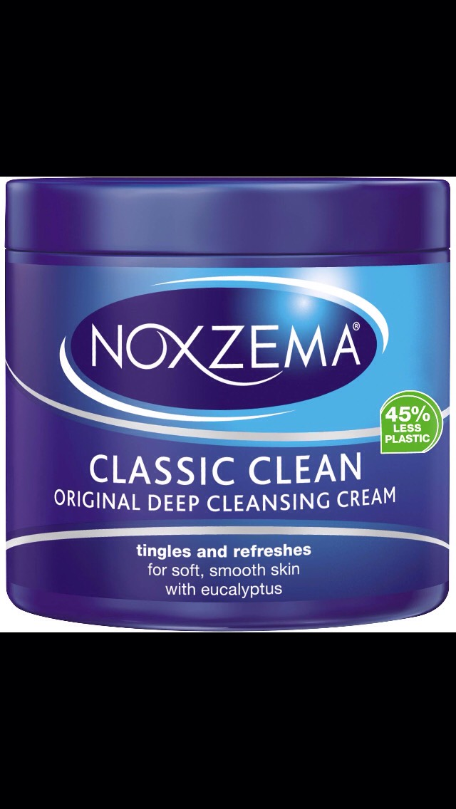 First cleanse your face with your favorite cleanser. My favorite is noxzema, it works for my skin type and is fairly cheap, but feel free to use your favorite cleanser.