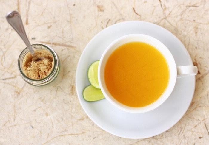 Lemon Ginger Tea RecipeHere