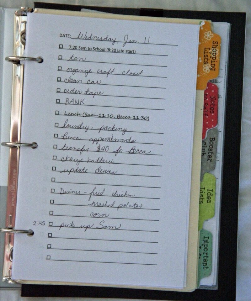 image relating to Diy Planner Organizer identify Do-it-yourself Everyday Planner/organizer through Katie Jones - Musely