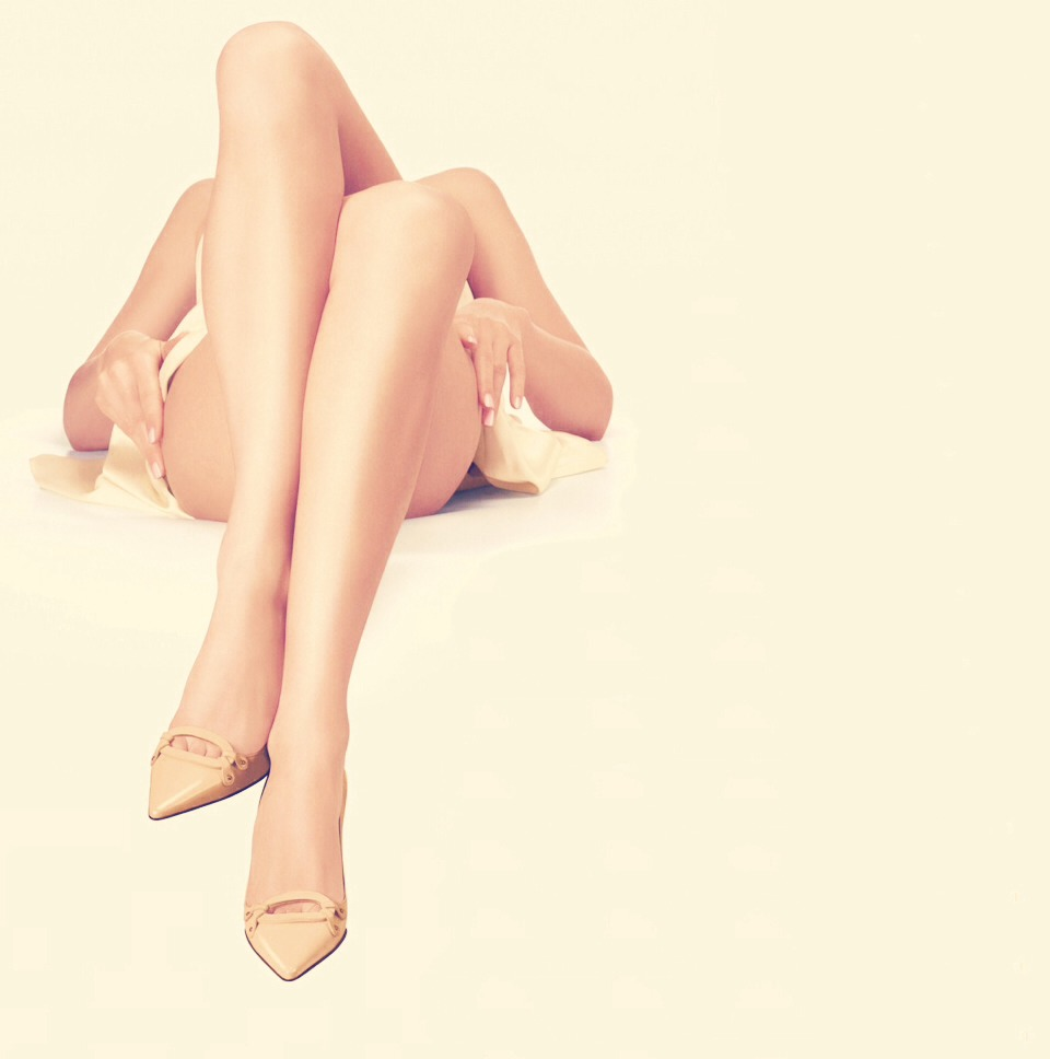 If you want you can exfoliate your legs before you shave to ensure smoothness