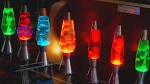 Lava lamps are a great touch