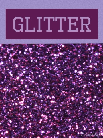 To do this DIY you will need: glitter 💛