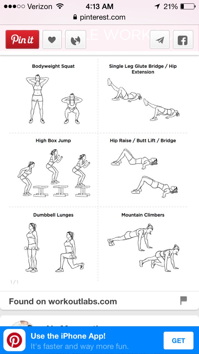 A really good simple butt workout for beginners