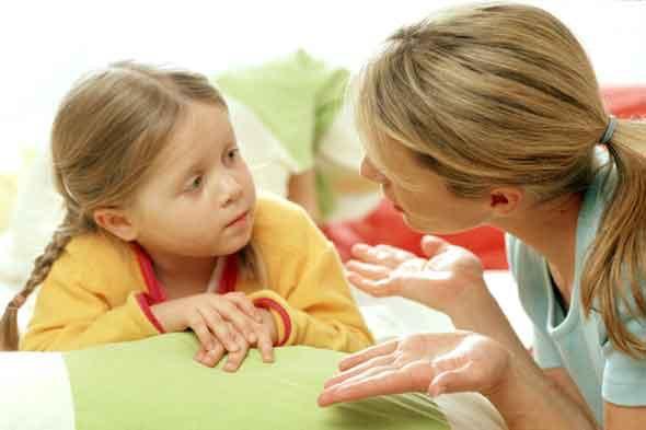 Parent-child communication.