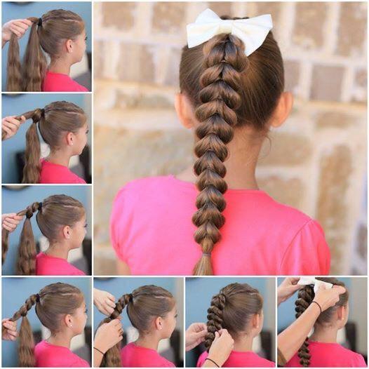 Easy pull through braid